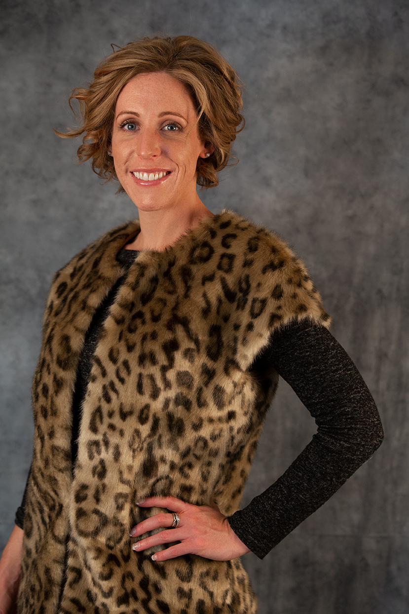 Leopard Print Vest Image